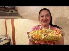 Como hacer encurtido o ensalada de repollo!!! Para tacos de canasta, popusas y más - YouTube Tacos Dorados, Recetas Salvadorenas, Liliana, Tostadas, Fresco, Cucumber, Food And Drink, Dressing, Breakfast