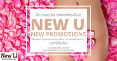 Until February 14th, 2017, enjoy our promotions and stay in touch with us for more coming by Valentine's Day and later in the future!  #valentines #vegas #ideas #gift #beauty #natural #treatments #eyelashes #perm #brazilian #wax
