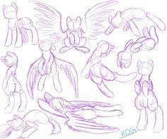 Pony Study 1 by katze-des-grauens on DeviantArt