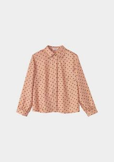 #Toast Polka Dot Blouse  jean skirt #2dayslook #jean style #jeanfashionskirt  www.2dayslook.com
