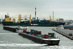 Puerto de Amberes, Bélgica. Foto OMI