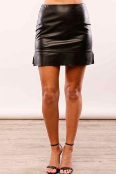 Love for Leather Mini Skirt
