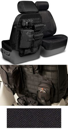 2014 Silverado 1500, 2500 Ballistic Tactical Front Seat Covers-Chevy Mall...not sure about the look but good concept