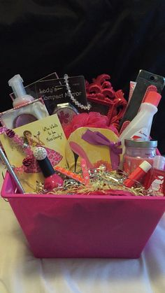Sassy and classy lady basket gift baskets by sassy sanders pink sassy lady basket sciox Choice Image