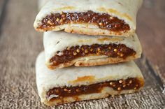 Homemade Fig Newtons: so much better than the store brand (vegan).