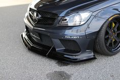 Liberty Walk have tuned the Mercedes-AMG Coupe and Sedan from the previous generation. Mercedes C63 Amg Coupe, Mercedes Benz Autos, C63 Amg Black Series, Amg Logo, Amg C63, Liberty Walk, Cars Uk, Benz Car, Dream Cars