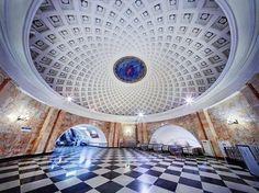 Moskow metro station - Russia