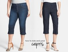 How Capris Work - Already Pretty | Where style meets body image