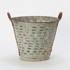 Vintage Olive Basket in Garden+Outdoor COLLECTIONS Elemental Garden at Terrain
