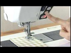 Janome Memory Craft 9900 instructional - YouTube