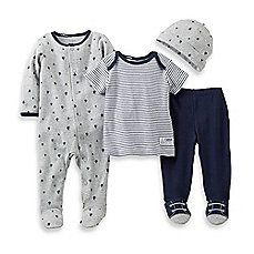 Carters Boys 4 Pc Cotton 381g039 Carters
