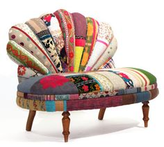 Technicolor Furniture Collection Reuses Textiles of the Silk Road : TreeHugger