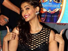Sonam Kapoor's Khoobsurat that includes Fawad Khan opposite her, opened for theatres on Friday, 19th Sep. 2014, Sonam Kapoor's Khoobsuratouted as a remake of Hrishikesh Mukerhjee's Khoobsurat (1980), the film's trailer additionally had similarities to Disney's 2001 film The princess Diaries.