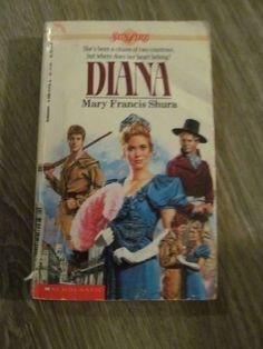 Diana by Mary Francis Shura (1988, Paperback) Sunfire Romance