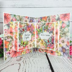 This #popup card is perfect for any occasion with the beautiful Dovecraft Bohemian #papercraft collection