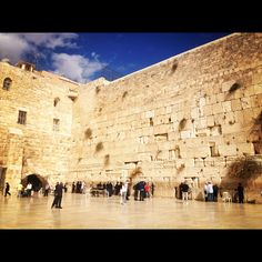 Western Wall a.k.a the Wailing Wall Old City, Jerusalem