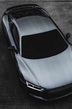 #Black #Chrome #Audi #R8