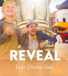 Everyone has a Disney Side, but do you know what yours is? From the Cinderella Castle to the Sleeping Beauty Castle and every Disney Parks attraction in between, your Disney Side is bound to show up on your next Walt Disney World or Disneyland Resort Vacation! Take this fun quiz to reveal your Disney Side personality!