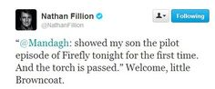 Why didn't I get a personal welcome to the 'verse from Nathan? :'(