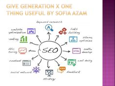 Give generation x one thing useful by sofia azam