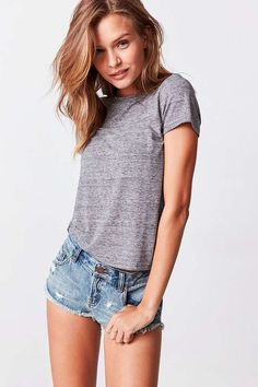 BDG Dolphin Low-Rise Denim Short - Urban Outfitters