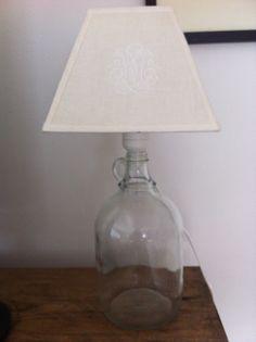 Fru Hansens kreativiteter: Lampe DIY