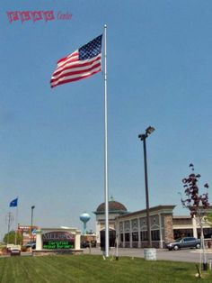 Melrose 60' Internal Halyard Flag Pole