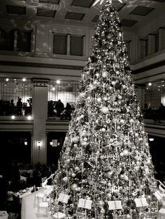 Chicago Macy's Walnut Room Christmas Tree