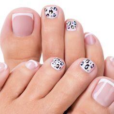 Pedicure Nail Art, Pedicure Colors, Manicure E Pedicure, Pedicures, French Nails, French Manicure Acrylic Nails, New French Manicure, French Pedicure Designs, Toe Nail Designs