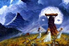 Tor has just published a lovely tribute to Darrell K Sweet who sadly passed away in December before completing the final cover art for A Memory of Light, final volume in Robert Jordan's epic fantasy series, The Wheel of Time.