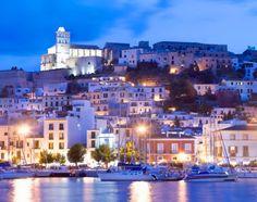 Dalt Vila, Ibiza, Islas Baleareas, España.