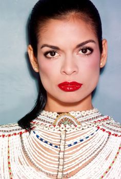 Bianca Jagger from the 1970's, by fashion photographer Chris von Wangenheim.