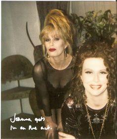 Jennifer Saunders & Joanna Lumley