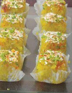 Microwave Coconut Barfi recipe | Indian Microwave Snack Recipes | by Tarla Dalal | Tarladalal.com | #4937