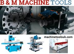 We, at B&M Machine Tools, stock a large range of #machinetools including Engineering Machines, Sheet Metal Machines, Wood Working Machines, Milling Machines, #Grindingmachines, Engine Reconditioning machines and much more. Call us on 44(0)20 7720 9804.