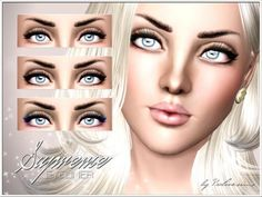 Supreme Eyeliner by Pralinesims at The Sims Resource - Sims 3 Finds