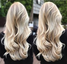 Most up-to-date Pictures Balayage hair blonde icy Concepts Summer's on how! And the ideas use richer, lighter weight, a lot more glamorous plus glistening ha Baby Blonde Hair, Blonde Hair Looks, Blonde Wig, Blonde Long Hair, Blonde Brunette, Very Short Bob Hairstyles, Lace Hair, Hair Painting, Long Painting
