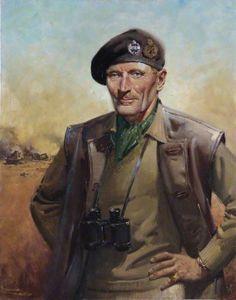 British Lieutenant-General Bernard Montgomery