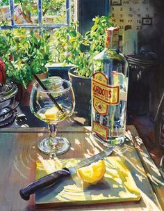 How to paint glass – watercolourist Matt Jeanes shows you how to focus on the effects of light and shade with a simple still life...