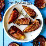 Simple Oven Roasted Figs   giverecipe.com   #figs #figrecipes #figseason #dessert #easydessert