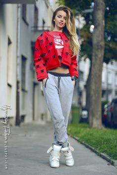 Hypnotizing Fashion - BLOG MODOWY | Stylizacje street style: Always Coca Cola ;) stylizacja sportowa