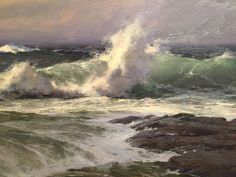 "A detail from Don Demers', ""The Wave""."