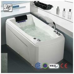 Acrylic Single Small Bathtub HS B1691 $580.00.