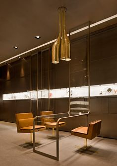 Faraone jewellery boutique by Iosa Ghini Associates, Milan store design