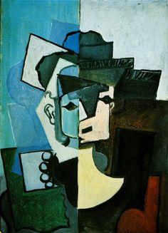 "Pablo Picasso - ""Visage de femme"". 1953"