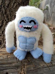 Plush yeti to put a smile on your face