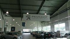 PVC bache 510gr frontlit met plafondhaken - Peugeot