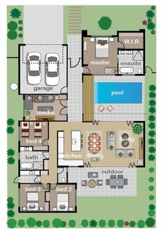 Floor Plan - Endeavour Foundation Lotteries