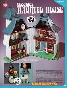 Weebles Haunted House...I still have the witch and the boy...I loved this!!!