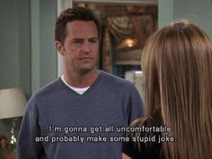 I am Chandler Bing